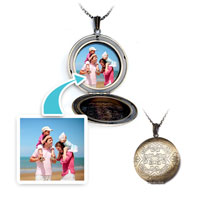 Items from KS - round &  butterfly classic pendant necklace beads charms bracelets Image.