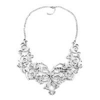 Necklace & Pendants - statement necklace flower vine hollow adjustable pendant bubble necklace Image.