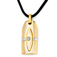 Necklace & Pendants - cross necklaces rectangle celtic cross clear crystal pendant Image.