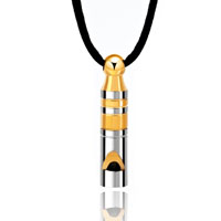 Necklace & Pendants - whistle necklace stainless steel gold tone necklace for women pendant Image.