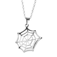 Necklace & Pendants - spiderweb pendant necklace for women earrings Image.