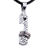 Necklace & Pendants - love stainless steel necklaces pendant for men Image.