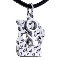 Necklace & Pendants - mothers day gifts love boy stainless steel necklaces pendant for men Image.