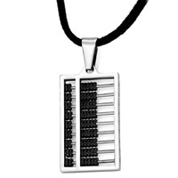 Necklace & Pendants - mothers day gifts small abacus black sliding beads pendants Image.