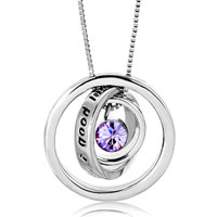 Necklace & Pendants - karma necklaces trinity necklace you'  ll have good luck 12  colors pendant Image.