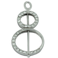 relation - double sided circle studded pendant necklace Image.