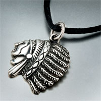 Necklaces - vintage stainless steel roma avatar pendant necklace for men women Image.