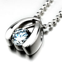 Necklace & Pendants - clear crystal classic pendant necklaces Image.
