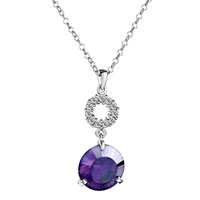 Necklace & Pendants - amethyst pendant necklace Image.
