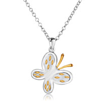Necklace & Pendants - butterfly pendant necklace for women Image.