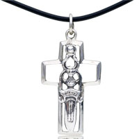 Sterling Silver - 925  sterling silver terrible sword pendant necklace sterling silver pendant Image.