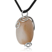 Necklace & Pendants - pearl waterdrop agate pendant necklace for women Image.