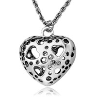 Necklace & Pendants - vintage antique classic heart dots pendant necklace gift for women Image.
