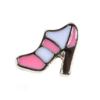 Floating Charms - women' s high heeled shoes floating charms for living memory lockets Image.