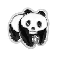 Floating Charms - lovely panda animal floating charms for living memory lockets Image.