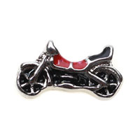 Floating Charms - motorcycle floating charms for living memory lockets Image.