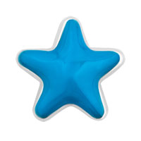 Floating Charms - new blue starfish love sea life floating charms for living lockets Image.