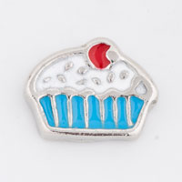 Floating Charms - floating charm blue cupcake floating charms for living memory locket Image.