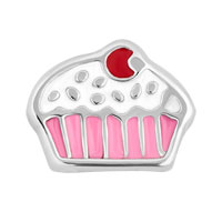 Floating Charms - floating charm pink cupcake floating charms for living memory locket Image.