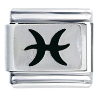 Italian Charms - pieces horoscope sign bith date italian charms Image.