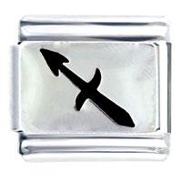 Italian Charms - sagittarius horoscope symbol italian charms bracelet link Image.