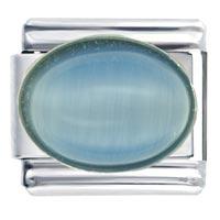 Italian Charms - blue moonstone birthstones jewelry italian charm Image.