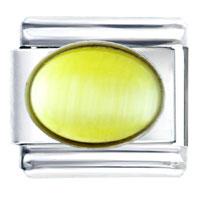 Italian Charms - yellow stone italian charms bracelet link Image.