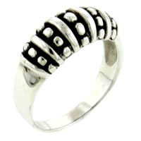 Rings - silver tone tribal men' s fashion rings size  7 Image.