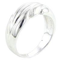 Rings - size7  crashing waves ring Image.