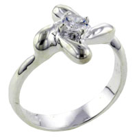 Rings - size8  round cut pinwheel ring Image.