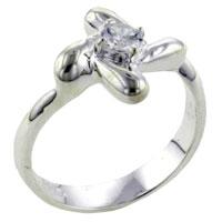 relation - size8  round cut pinwheel ring Image.