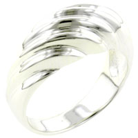 Rings - size8  sterling silver braid ring Image.