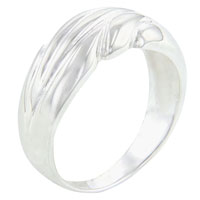 Rings - new 925  sterling silver size8  crashing waves ring fashion jewelry Image.