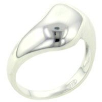 Rings - size9  silver twist ring Image.