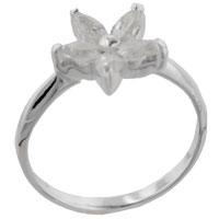 Sterling Silver Jewelry - size9  marquise cz arabella sterling silver ring gift fashion jewelry Image.