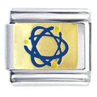 Italian Charms - atom science symbol italian charms Image.