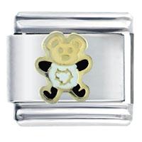 Italian Charms - teddy bear animal italian charms bracelet link Image.
