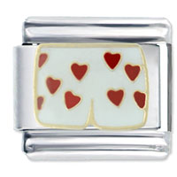 Italian Charms - heart boxers italian charm fashion jewelry Image.