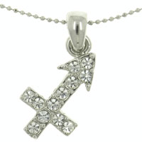 relation - sagittarius horoscope zodiac pendants fashion jewelry necklaces Image.