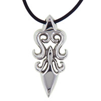 Clearance Jewelry - 925  sterling silver celtic blade symbol stainless steel necklaces Image.