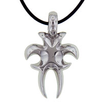 Clearance Jewelry - tribal scoop neck stainless steel necklaces pendant for men Image.