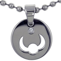 relation - taurus horoscope zodiac stainless steel necklaces pendant for father Image.