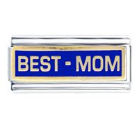 Italian Charms - mom italian charms bracelet link Image.