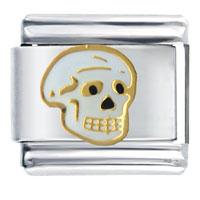 Italian Charms - halloween skull italian charms Image.