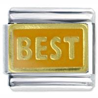 Italian Charms - jewelry orange italian charms golden best silver p bead fit bracelet Image.