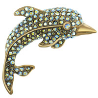 New Year Deals - dolphin brooches and pins Image.
