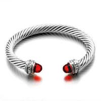 Bracelets - 12  colors cuff bangle bracelets swarovski elements crystal Image.