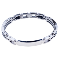 Mens Bracelet Chic Mens Stainless Steel Bracelets Cuff Bangle Bracelets