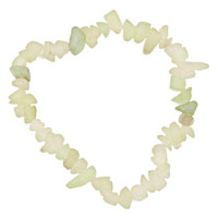 Chip Stone Bracelets Rock Crystal Genuine Aragonite Stone Chips Gemstone Bracelet