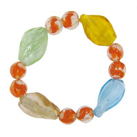 Citrus Murano Glass Beads Charms Bracelets Fit All Brands